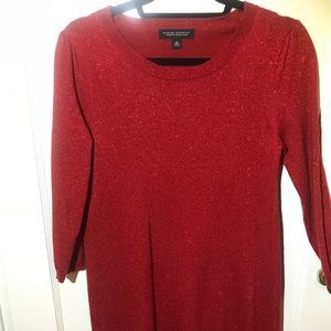 Banana Republic, Shimmer Cashmere Dress (Size M)